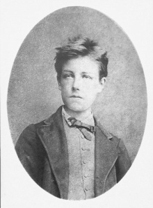 The young Rimbaud.